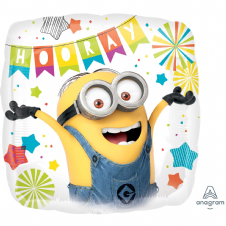 Minion 'Party' 'Hooray' Foil Helium Balloon